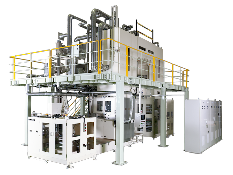 Large coating machines